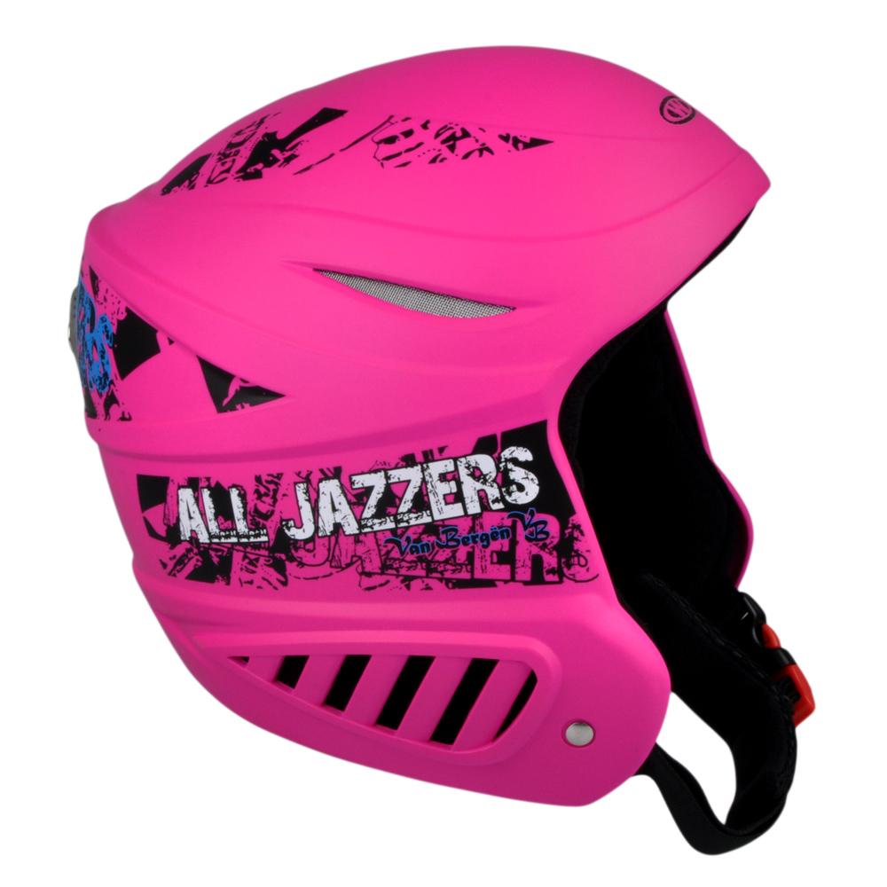 Lyžařská přilba WORKER Willy růžová - XS (48-50)