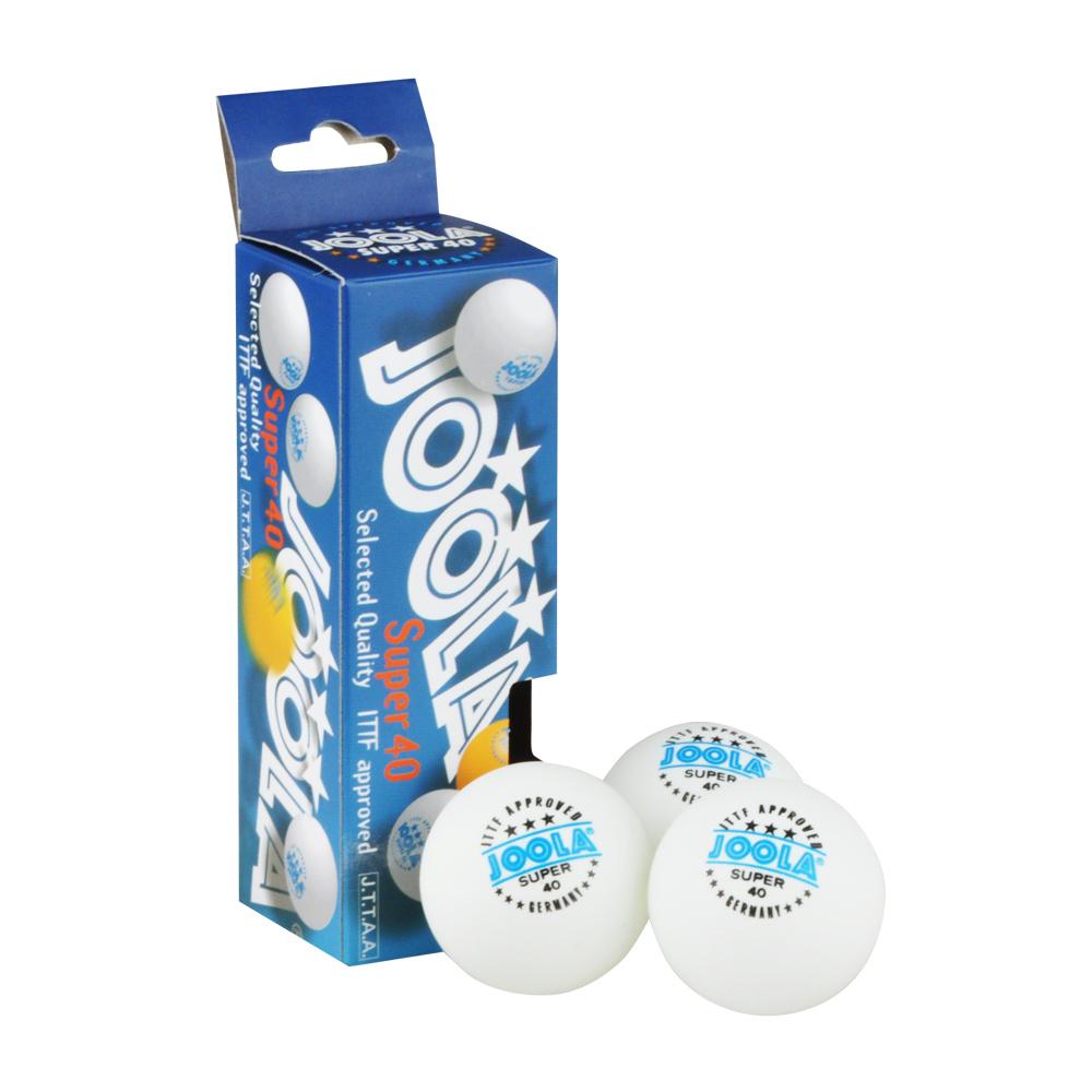 Sada míčků Joola Super 40 bílá