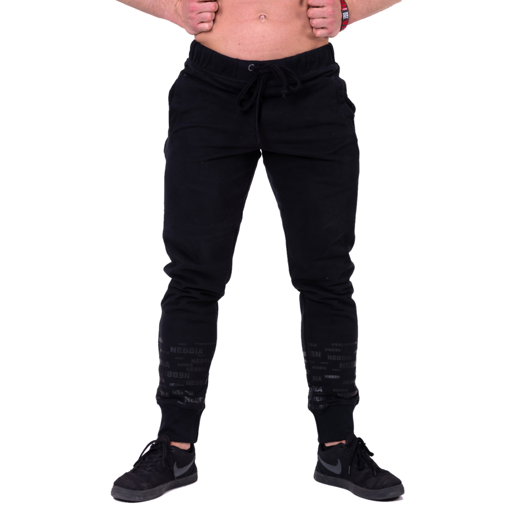 Nebbia Gym Hero Joggers 153 Black  XL