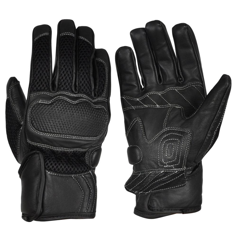 Pánské moto rukavice W-TEC Sarwar černá - M