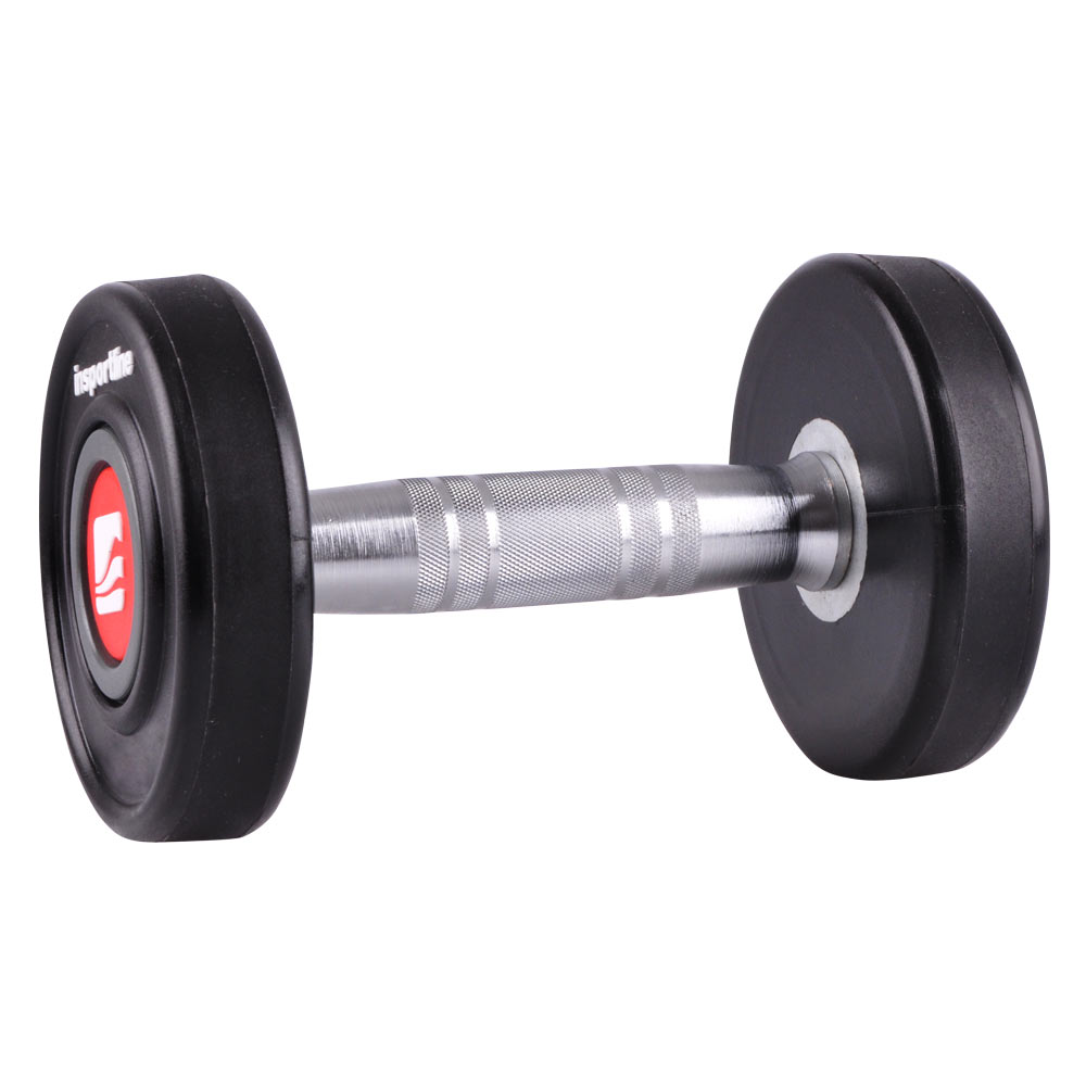 Jednoruční činka inSPORTline Profi 12 kg