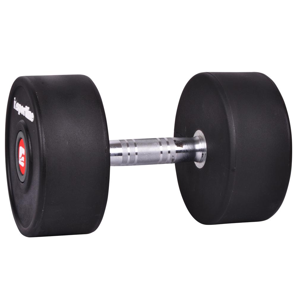 Jednoruční činka inSPORTline Profi 44 kg