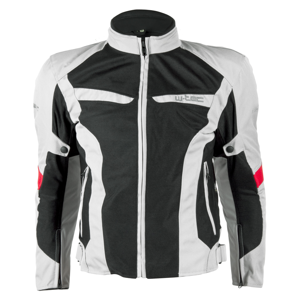 Pánská moto bunda W-TEC Ventex Light Grey - 4XL