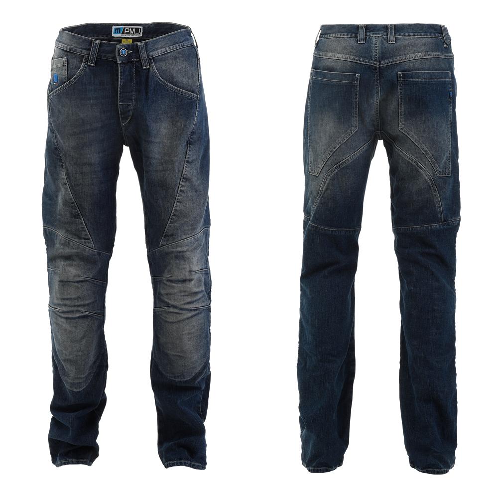 Pánské moto jeansy PMJ Dallas modrá - 30