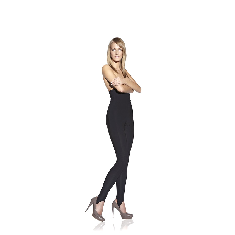 Dámské zeštíhlující kalhoty s vysokým pasem inSPORTline Revolution Slim XS-S (74-84)