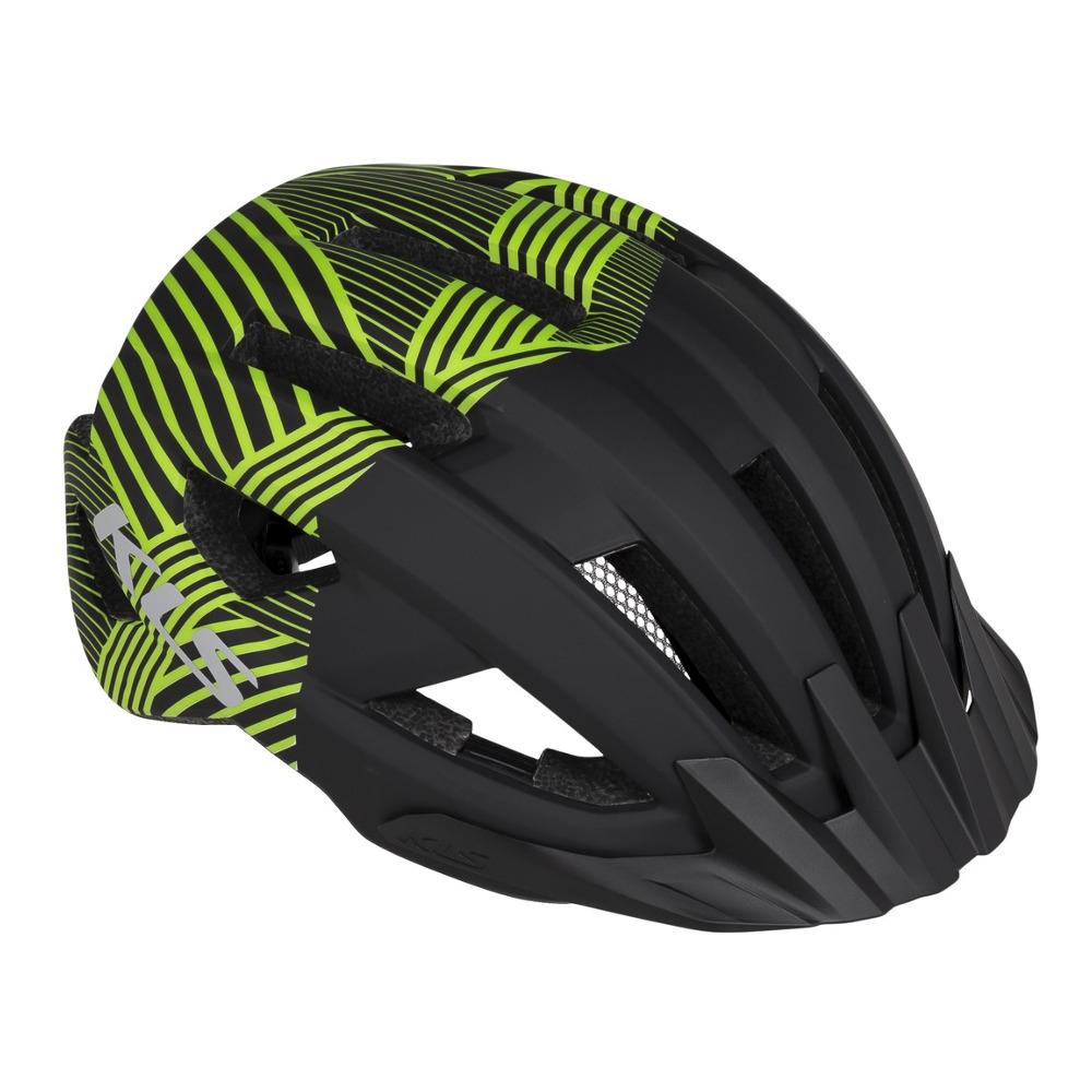 Cyklo přilba Kellys Daze Black Green - S/M (52-55)