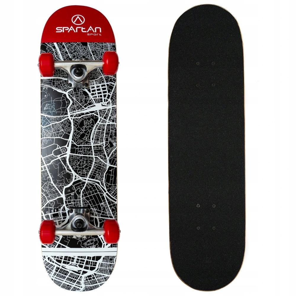 Skateboard Spartan Utop Skull City