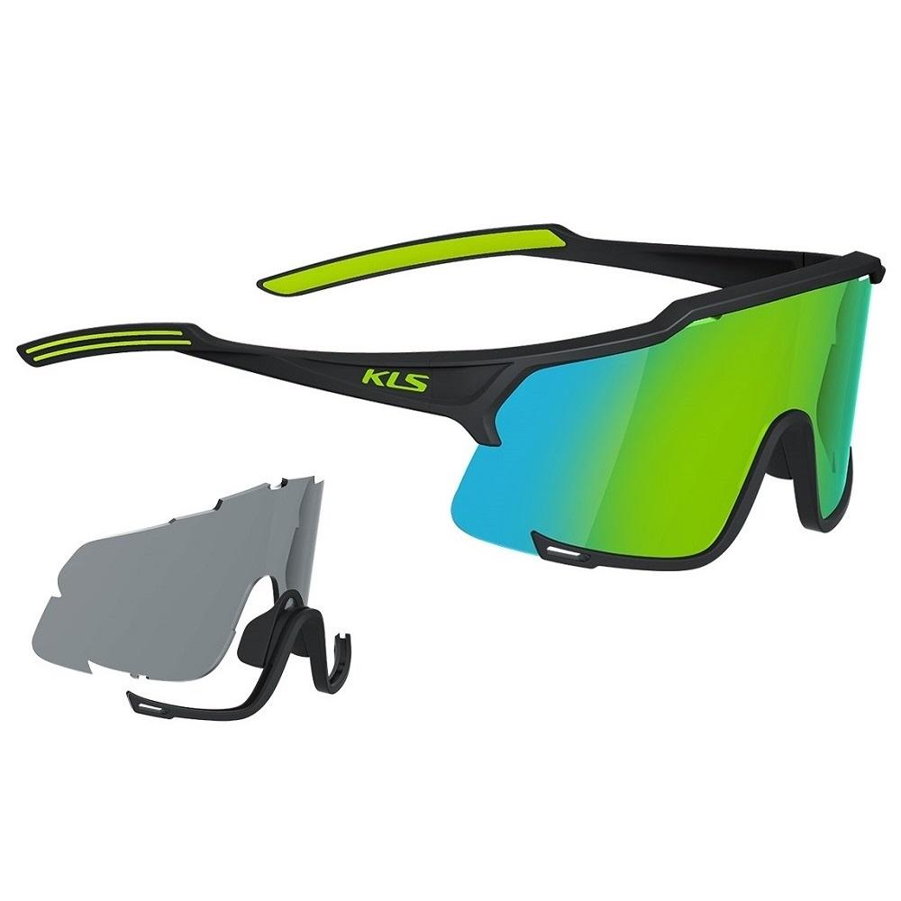 Sluneční brýle Kellys Dice Black-Lime