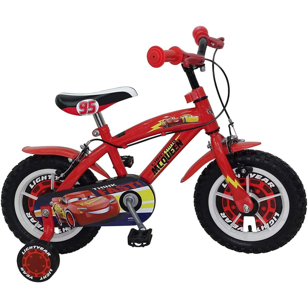 Disney Cars Cars Bike 12 - model 2021