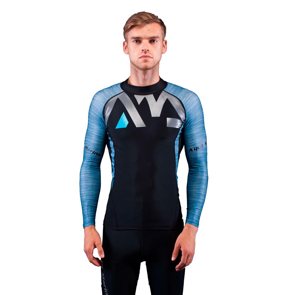 Pánské tričko pro vodní sporty Aqua Marina Division modrá - S