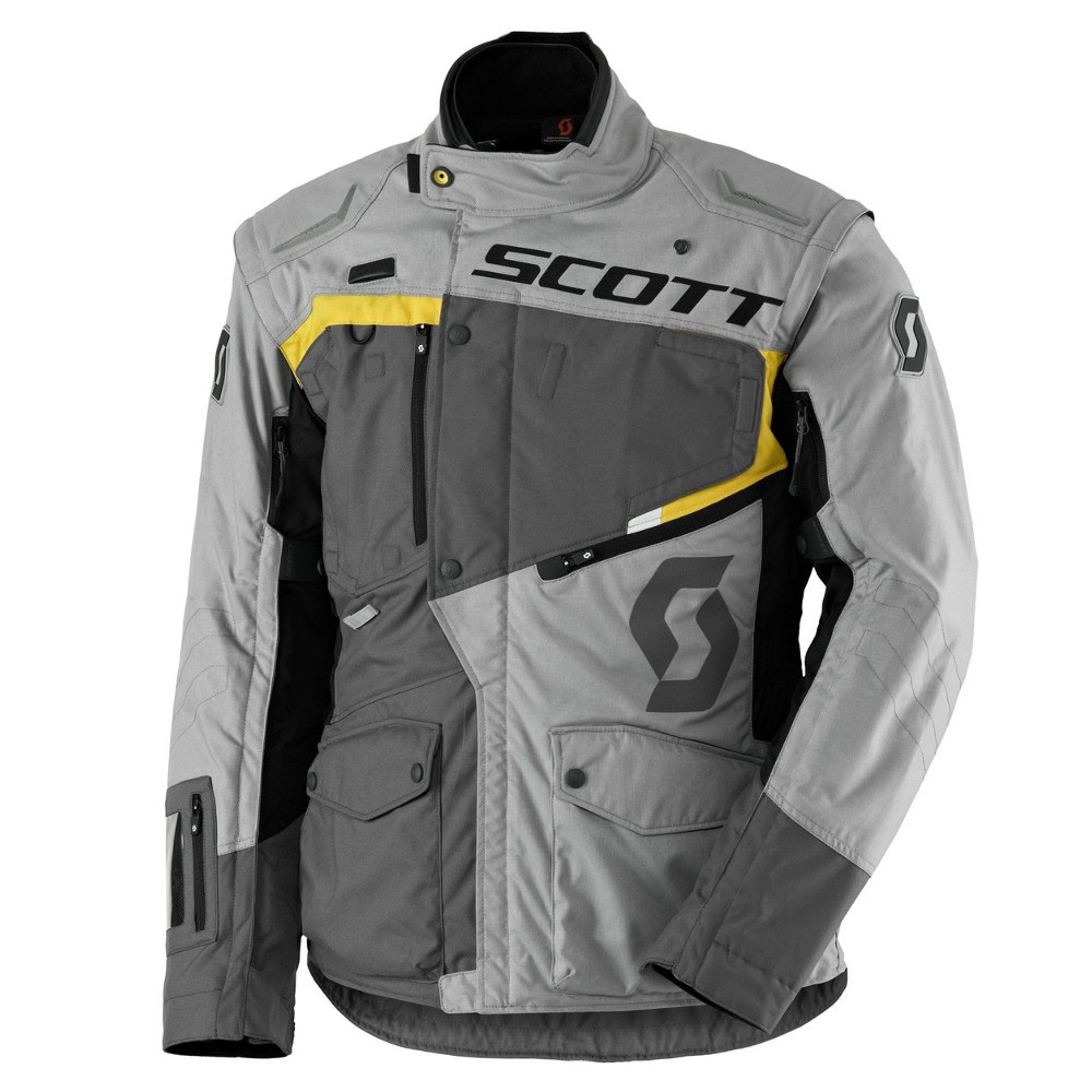 Moto bunda SCOTT Dualraid DP Grey-Yellow - XXL (58)
