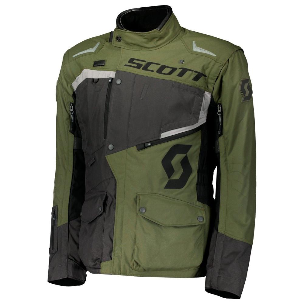 Moto bunda SCOTT Dualraid DP Grey/Olive-Green - XL (54-56)