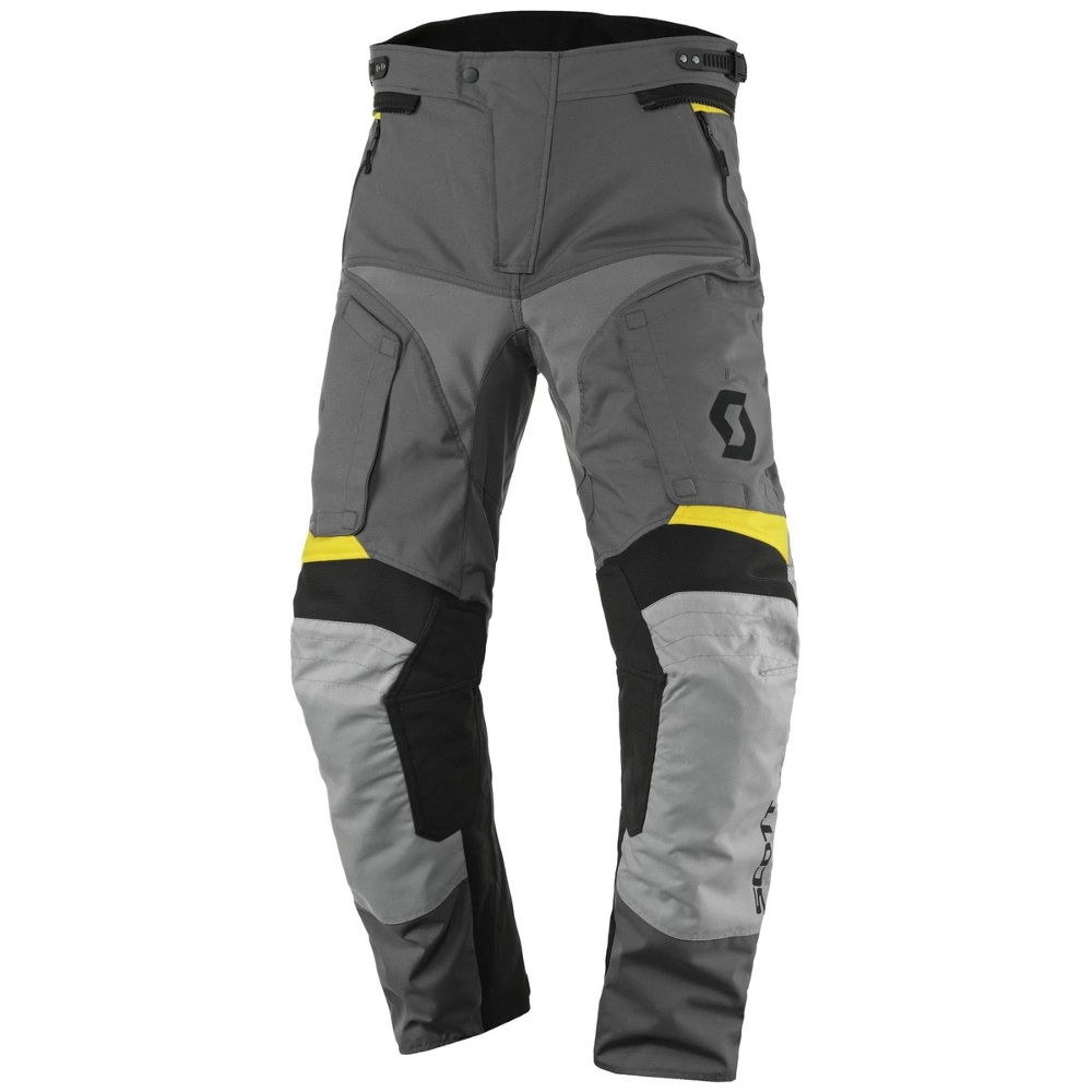 Moto kalhoty SCOTT Dualraid DP Grey-Yellow - XXL (38)