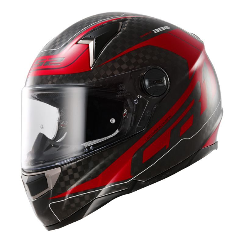 Moto přilba LS2 CR1 Diablo Red Big Carbon - XL (61-62)