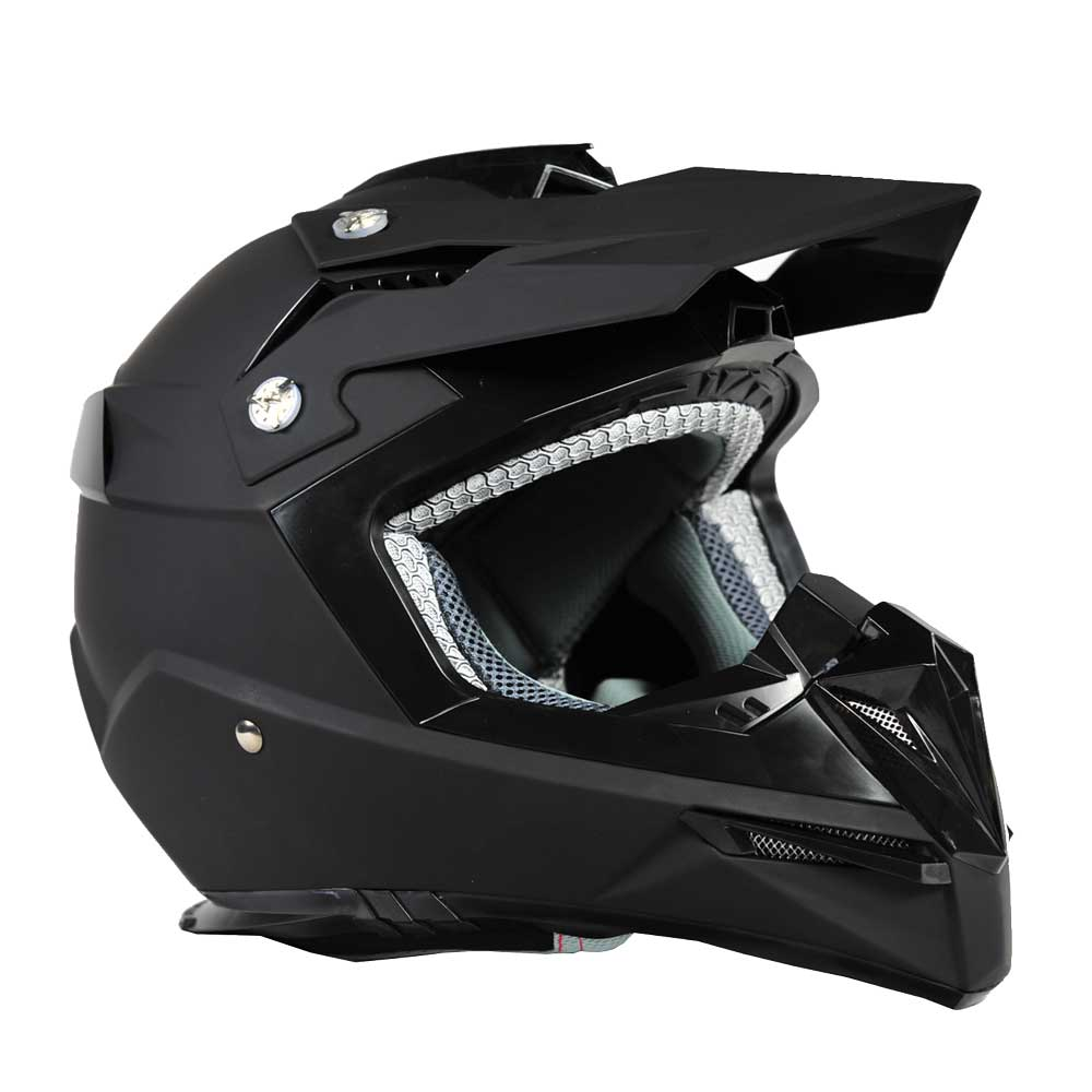 Moto přilba Ozone FMX černá - S (55-56)