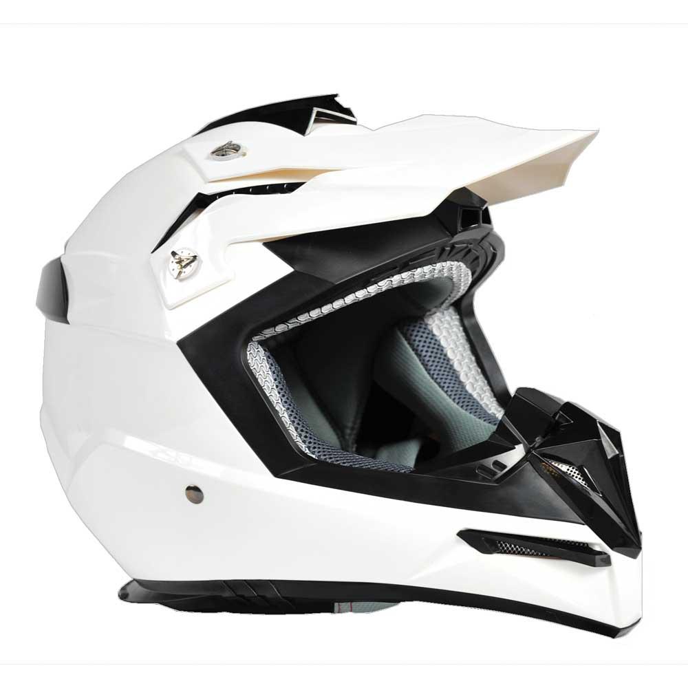 Moto přilba Ozone FMX bílá - S (55-56)