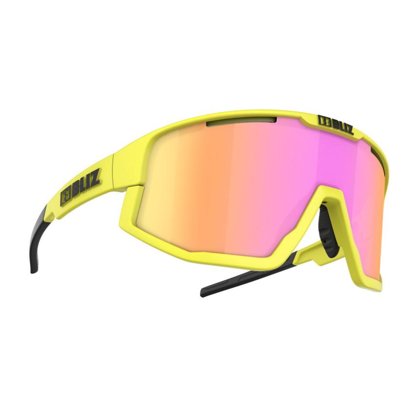 Sportovní sluneční brýle Bliz Fusion 2021 Matt Neon Yellow