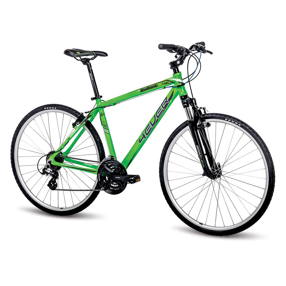 """Pánské crossové kolo 4EVER Gallant 28"""" - model 2016 zelená - 15"""""""