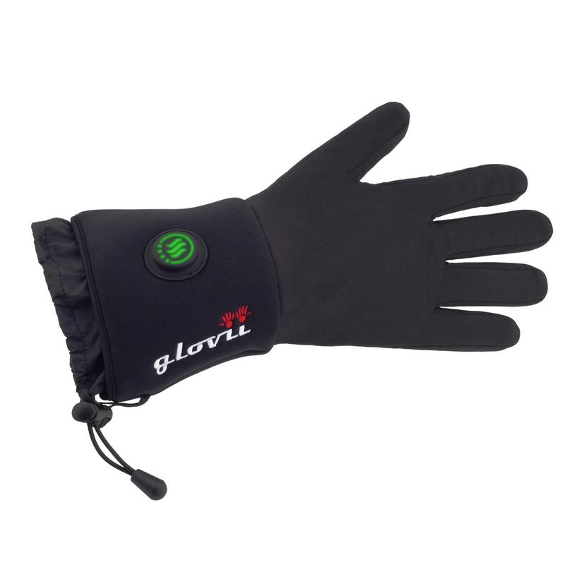 Univerzální vyhřívané rukavice Glovii GL černá - XXS-XS