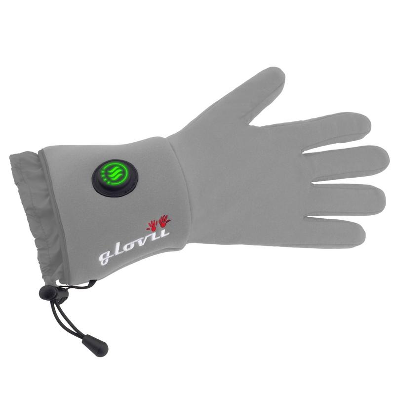 Univerzální vyhřívané rukavice Glovii GL bílá - S-M 207d833ee0