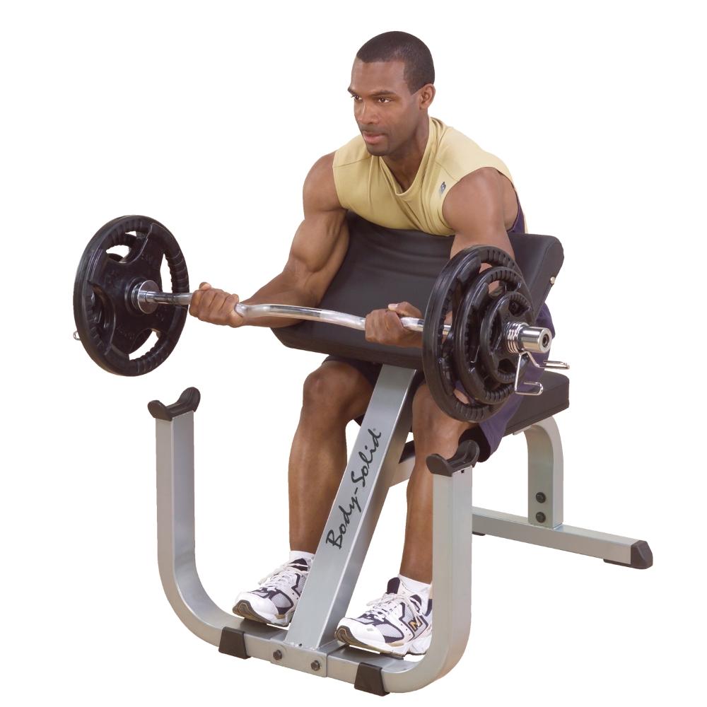 Posilovač bicepsů Body-Solid Curl Bench GPCB329 - Záruka 10 let