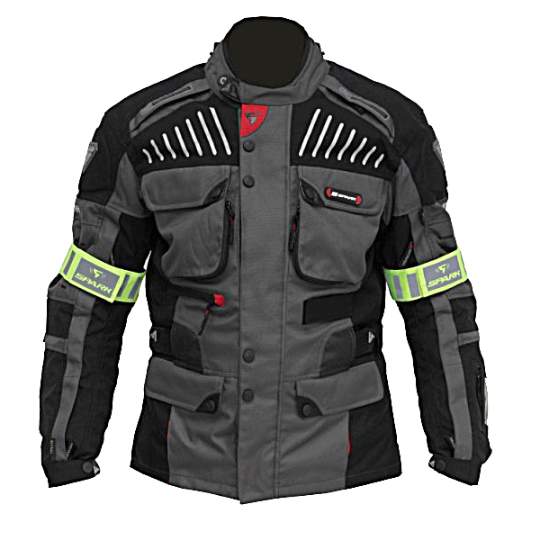 Moto bunda Spark GT Turismo tmavá - M