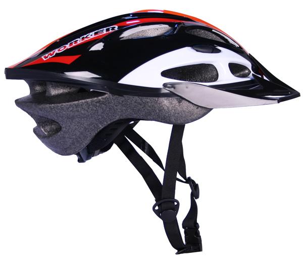 Cyklistická přilba WORKER Gladiator oranžová - S (50-52)