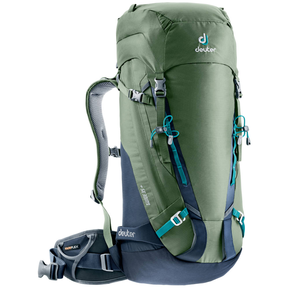 Horolezecký batoh DEUTER Guide 35+ khaki-navy