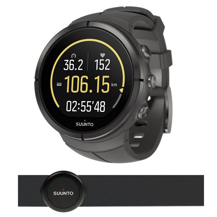 Sportovní hodinky SUUNTO Spartan Ultra Titanium Stealth HR