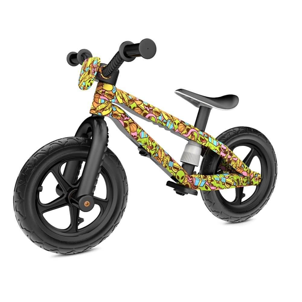 Dětské odrážedlo Chillafish BMXie-RS FAD barevná grafika