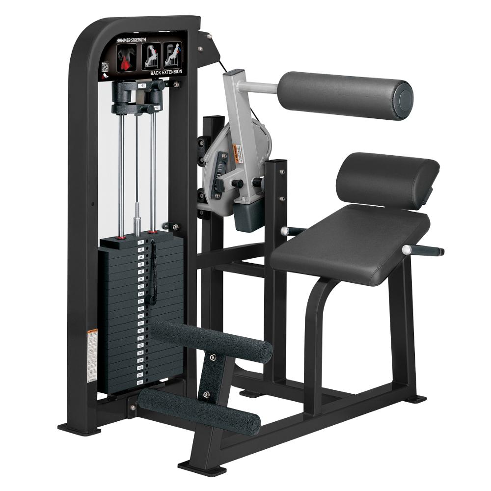 Posilování zad Hammer Strength Select Back Extension - Montáž zdarma + Servis u zákazníka