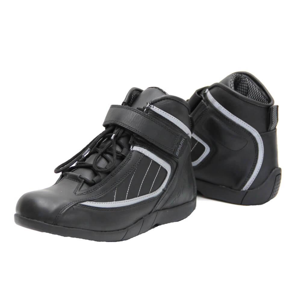 Cestovní moto boty Spark Urban černá - 38