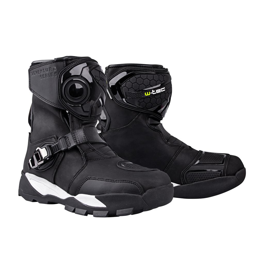 Moto boty W-TEC Grimster černá - 40