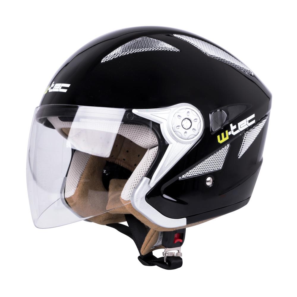 Moto helma W-TEC V529 černá - XS (53-54)