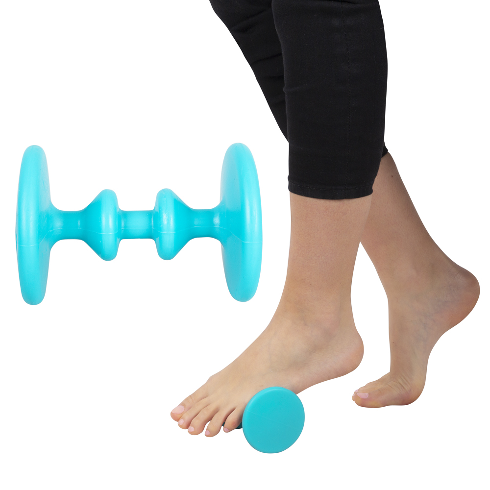 Masážní pomůcka na chodidla inSPORTline Emms modrá