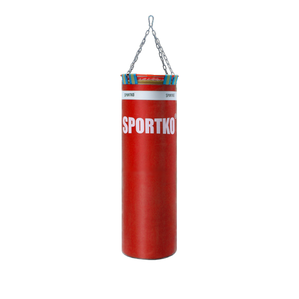 Boxovací pytel SportKO Elite MP22 35x110 cm červená