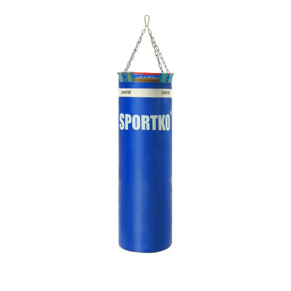 Boxovací pytel SportKO Elite MP22 35x110 cm modrá