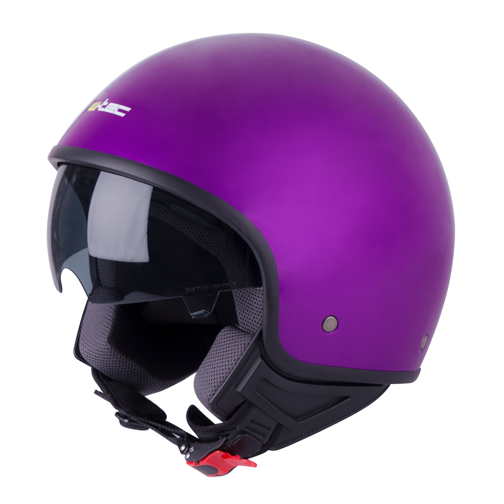 Helma na skútr W-TEC FS-710 Lila - XS (53-54)