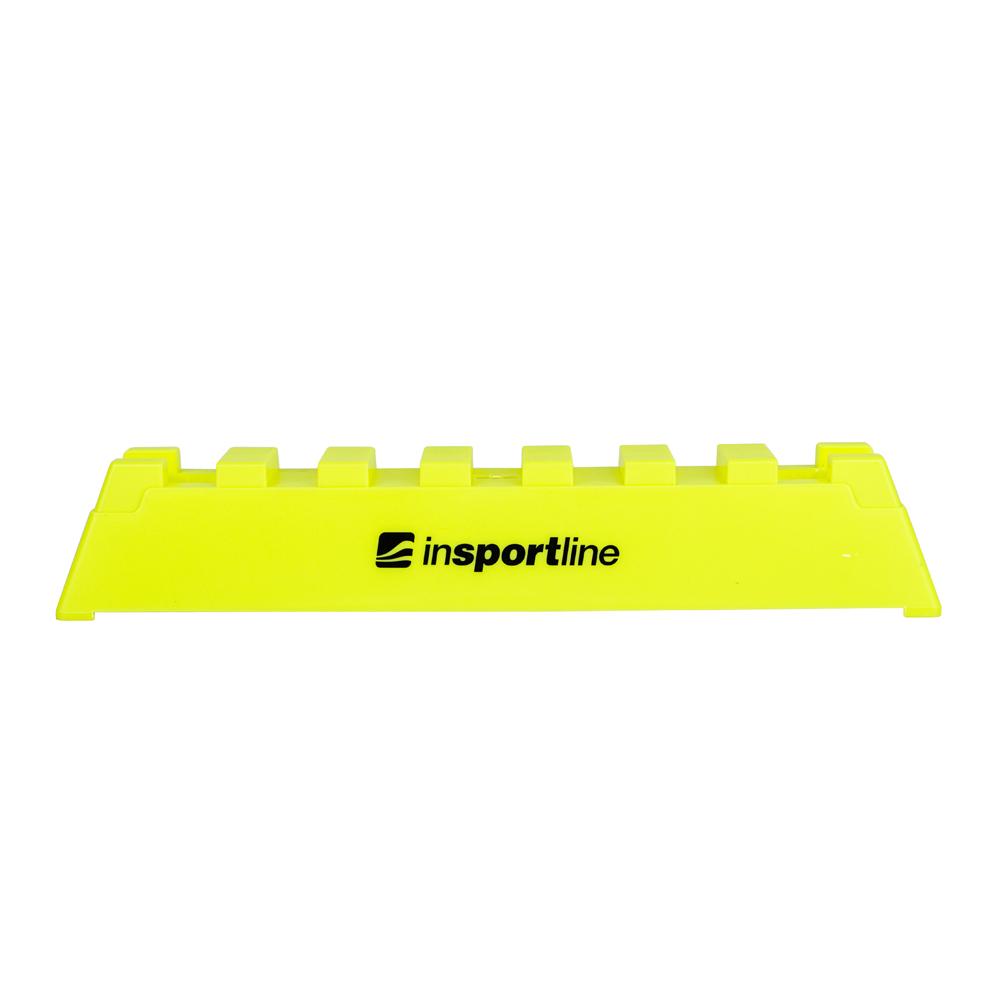 Obdélníkový kužel inSPORTline Rectangle žlutá