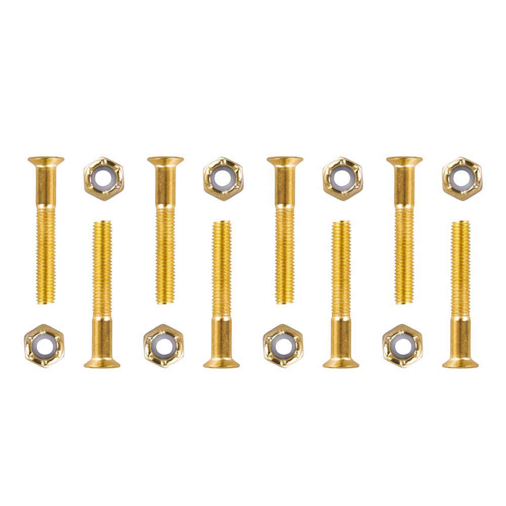 Podvozkové šrouby 5x35 mm zlatá