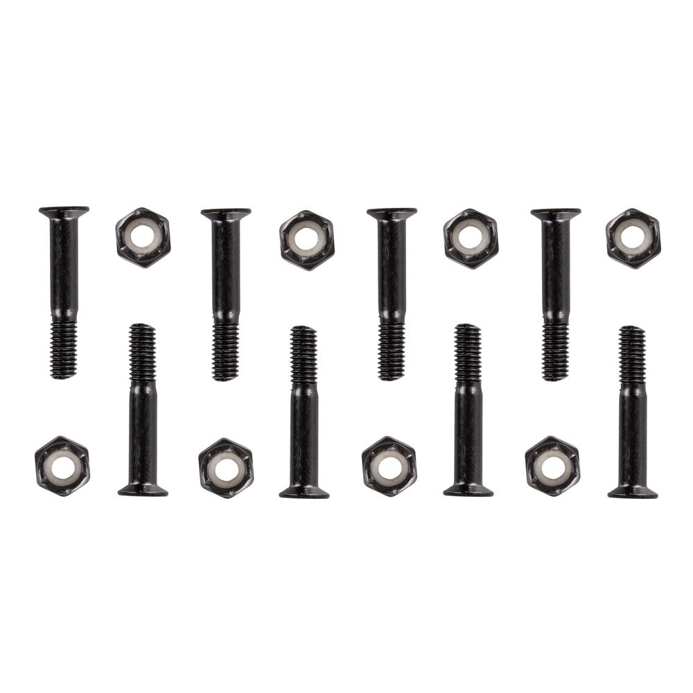 Podvozkové šrouby 5x28 mm černá