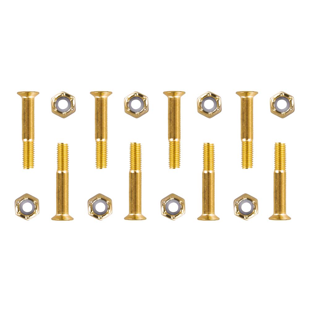 Podvozkové šrouby 5x28 mm zlatá