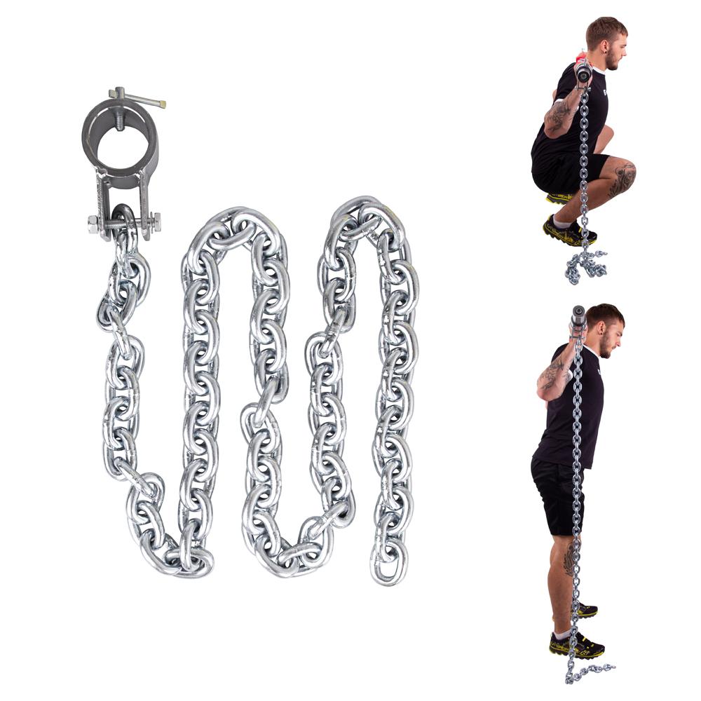 Vzpěračský řetěz inSPORTline Chainbos 10 kg