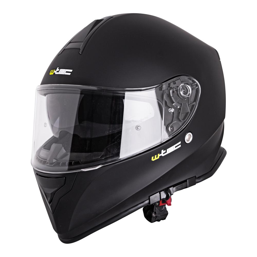 Moto helma W-TEC V127 matně černá - XS (53-54)