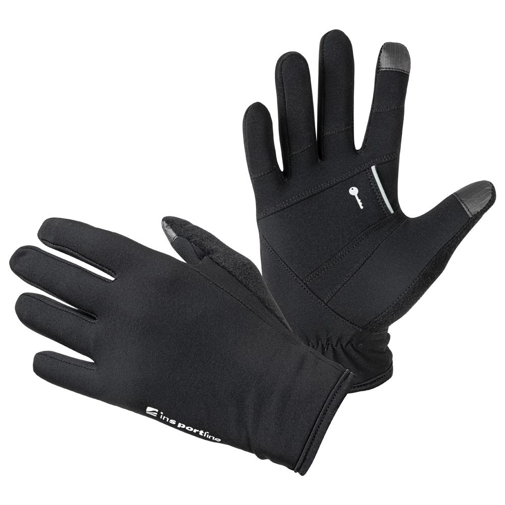 Běžecké rukavice inSPORTline Vilvidero  černá  S