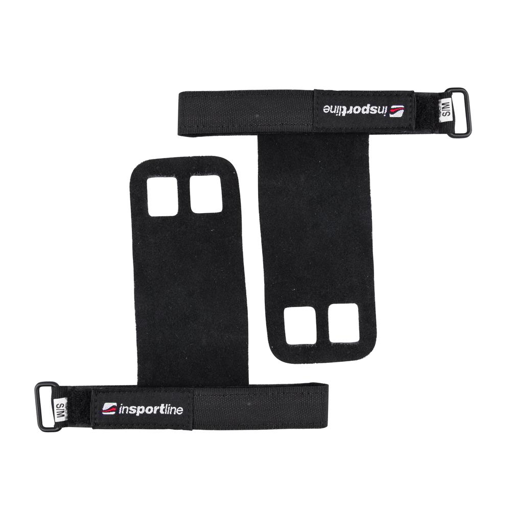 Fitness ochrana dlaně inSPORTline Cleatai černá - S/M