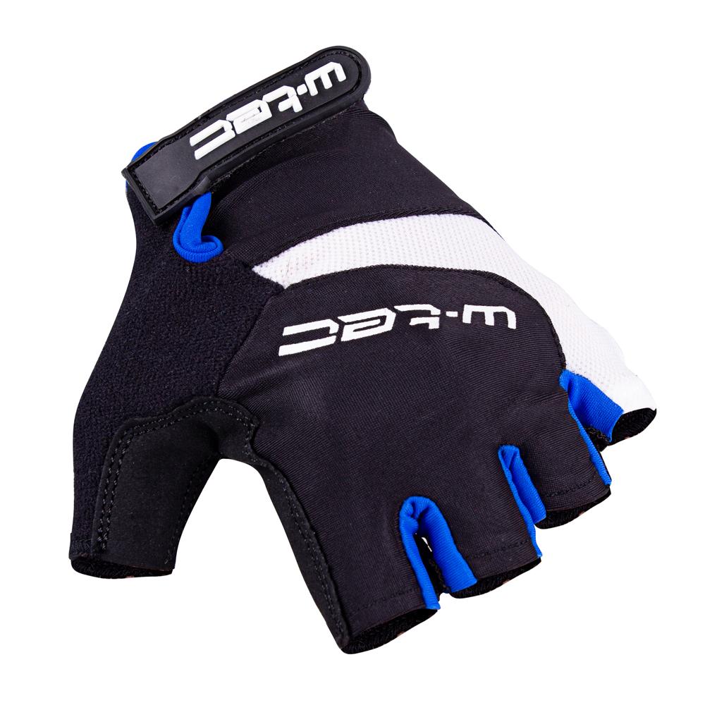 Cyklo rukavice W-TEC Jaynee černo-modrá - L