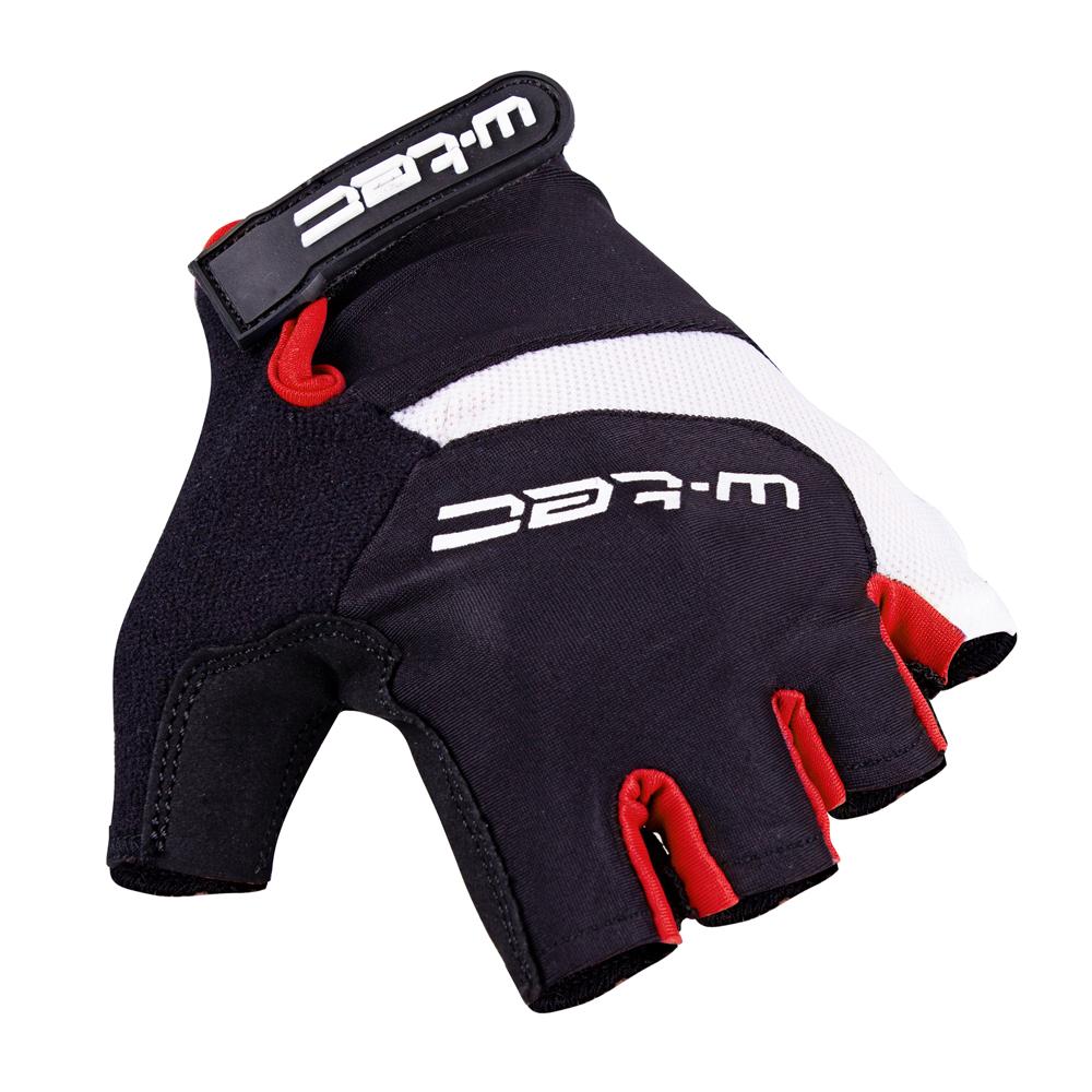 Cyklo rukavice W-TEC Jaynee AMC-1031-13 černo-červená - S