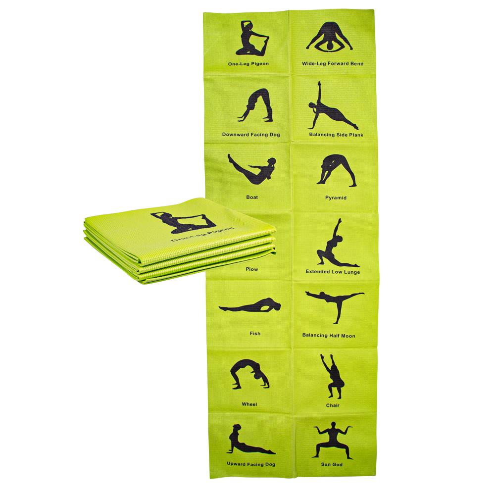 Skládací jóga podložka inSPORTline Shome