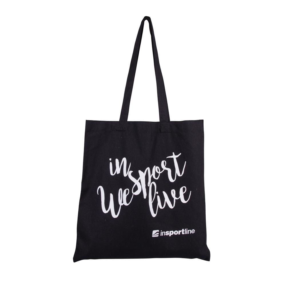 Plátěná taška inSPORTline Sportsa černá